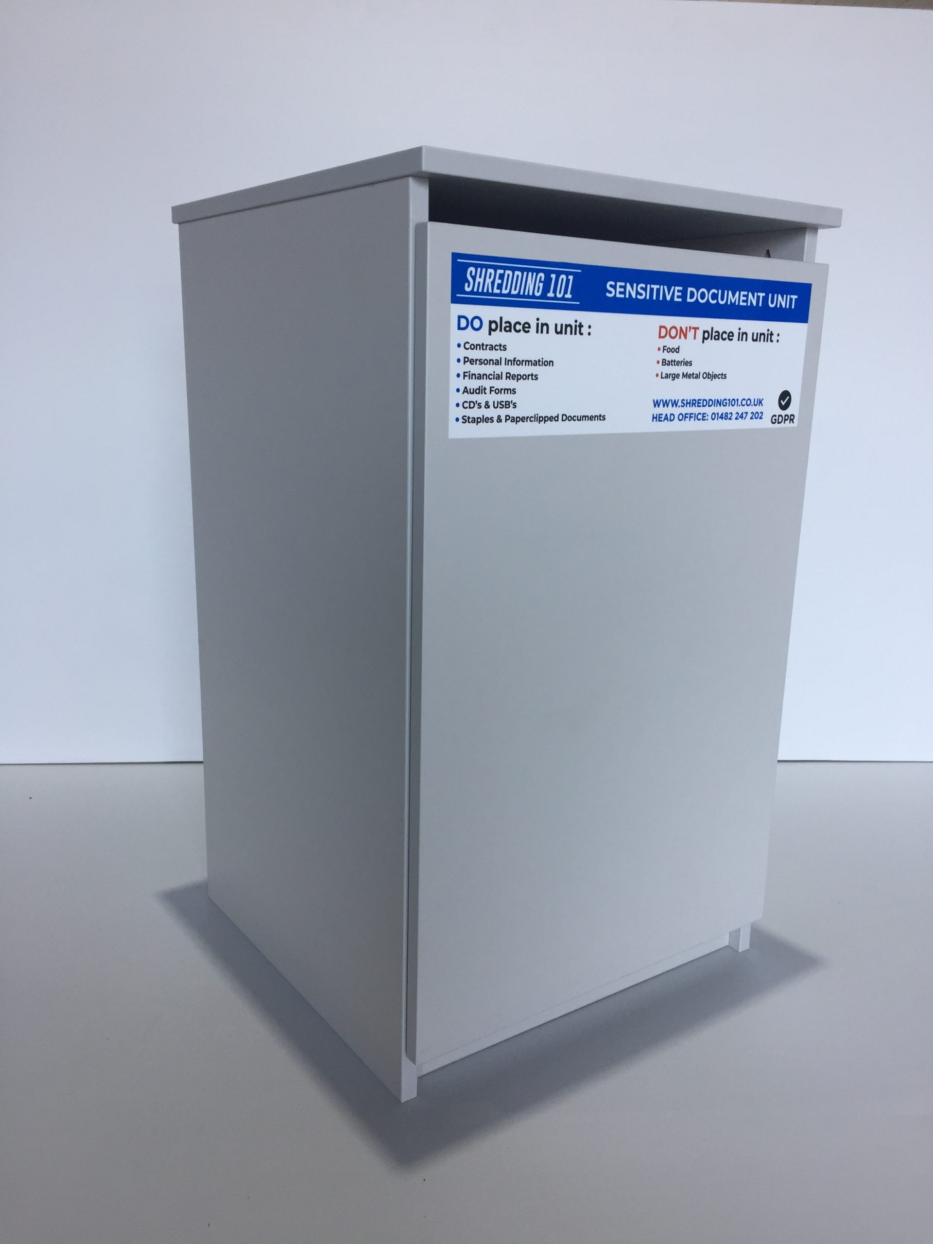 Keep Your Data Secure With A Confidential Waste Cabinet From Shredding 101