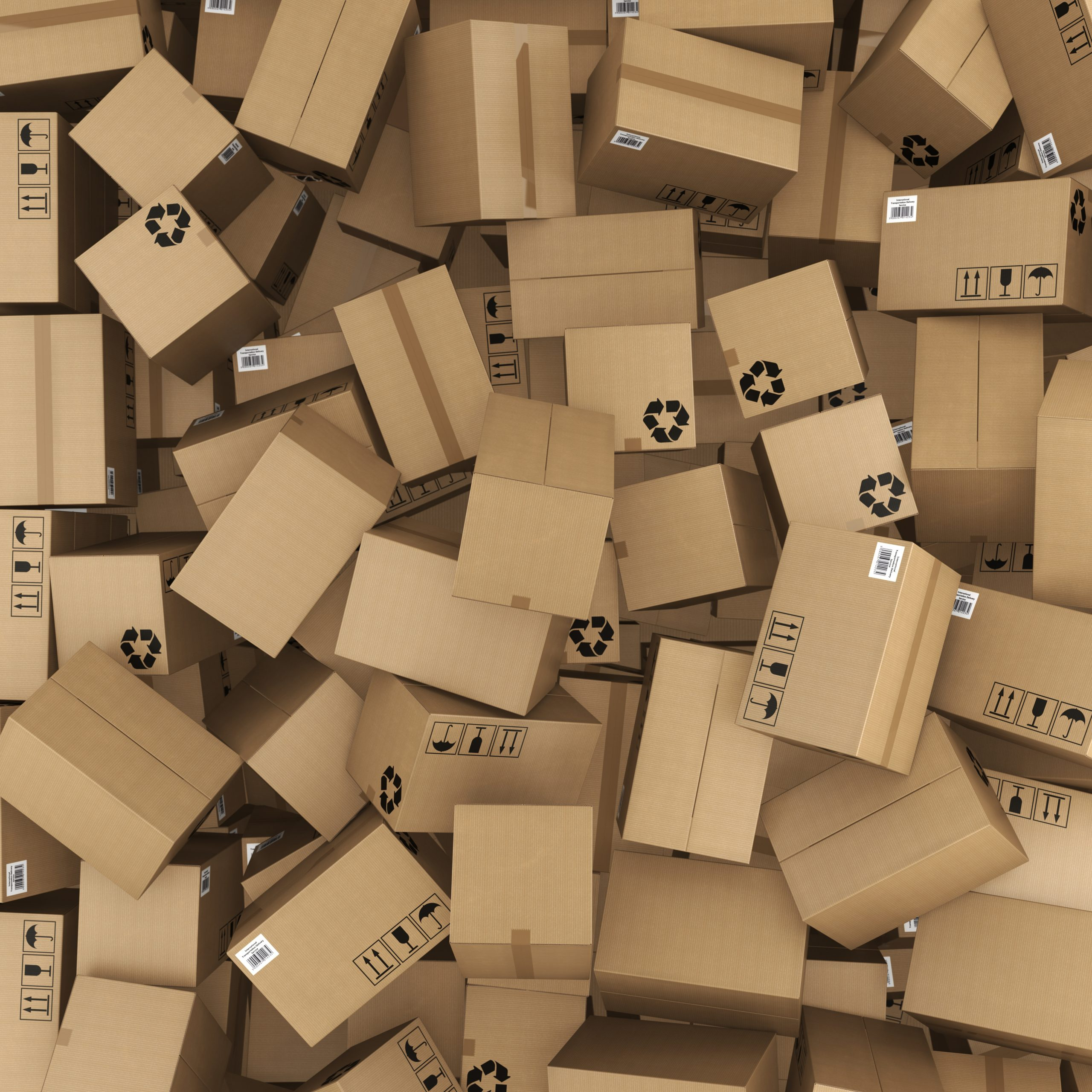 Carboard Boxes For Recycling
